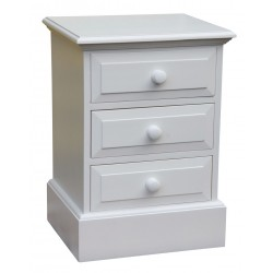 3 Drawer Bedside Locker