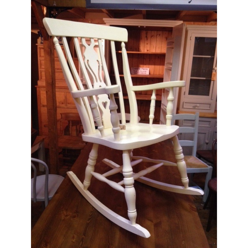 Fiddle Back Rocking Chair