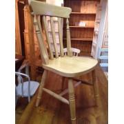 Heavy Slat Back Chair