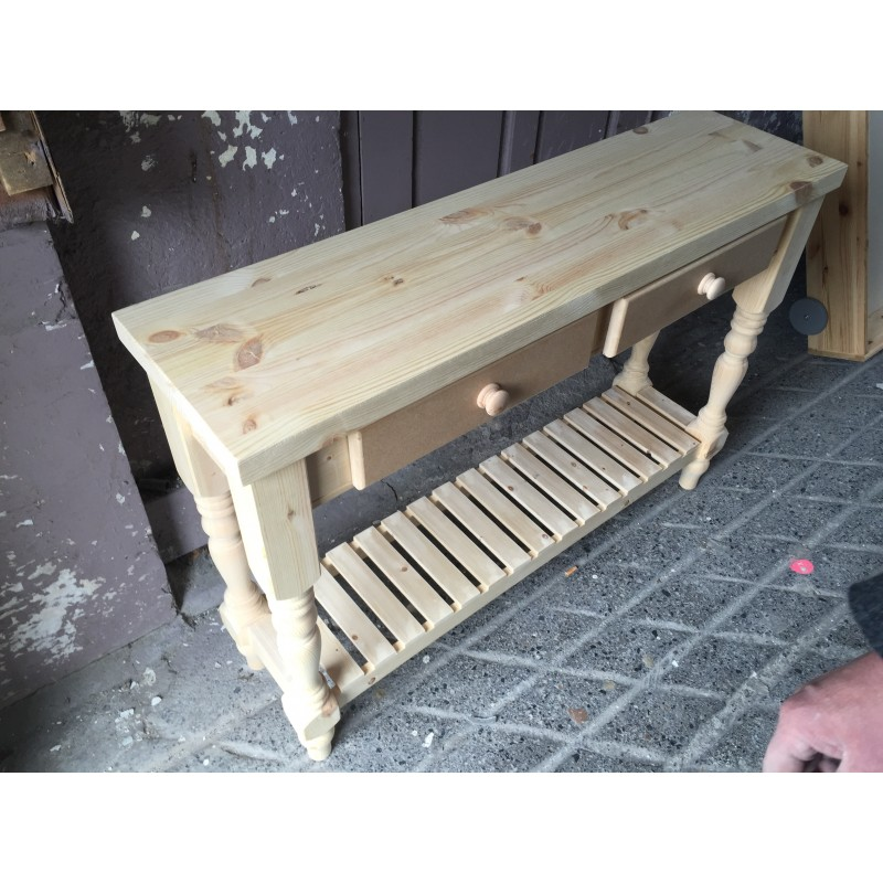 Shaker Style Console Table Furniture Maker Christy Birds