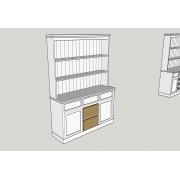 Kitchen Dresser 5' (152 cm)