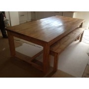 Shaker Refectory Table - Painted
