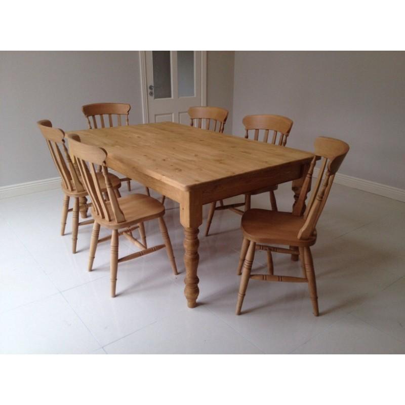 Kitchen Chairs Ireland: Classic Farmhouse Table