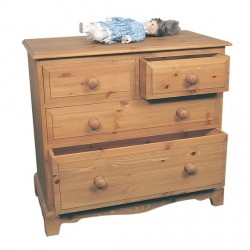 Two Over Two Chest of Drawers