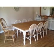 Classic Farmhouse Table - Waxed