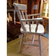 Heavy Slat Back Carver Chair