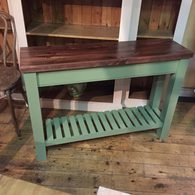 Shaker Style Console Table