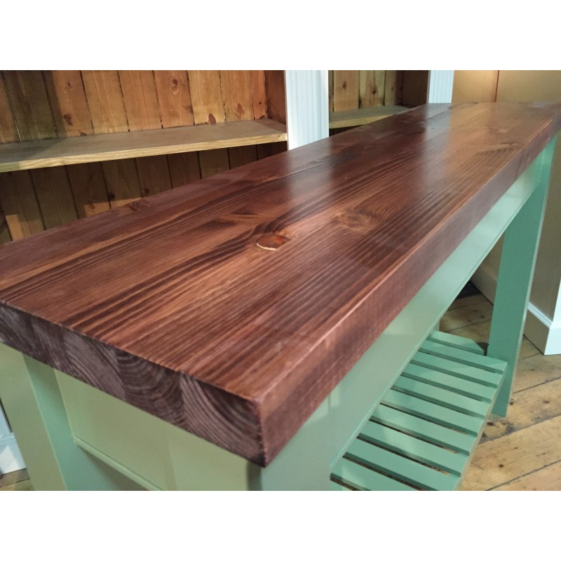 ... Shaker Style Console Table ...