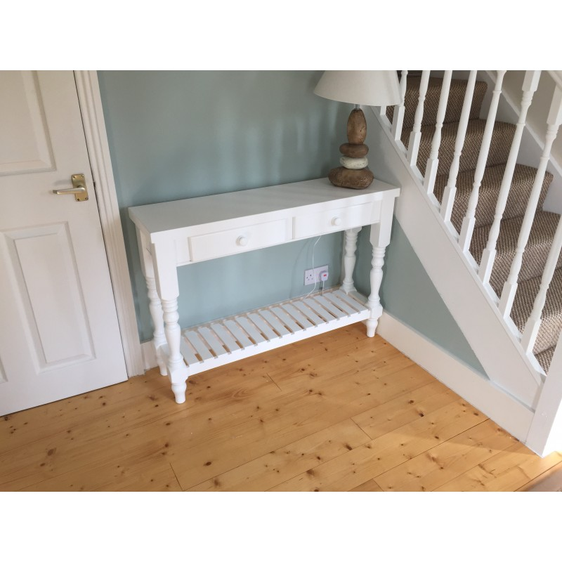 Etonnant Shaker Style Console Table; Shaker Style Console Table ...