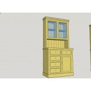 Kitchen Dresser 3' (92 cm)