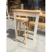 Shaker Counter High Table