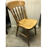Traditional Slat Back Chair
