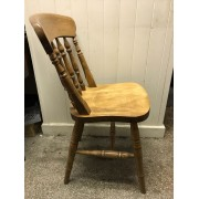 Spindle back Low Chair