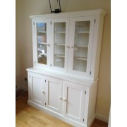 Kitchen Dresser with Full Glazed Doors on Top