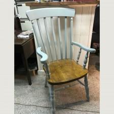 Windsor Lath Back Grandad Chair