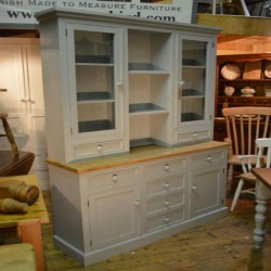 Half Glazed with Drawer Dresser