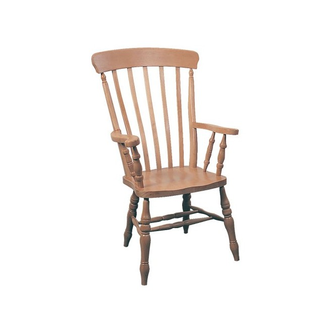 Windsor Lath Back Grandad Chair