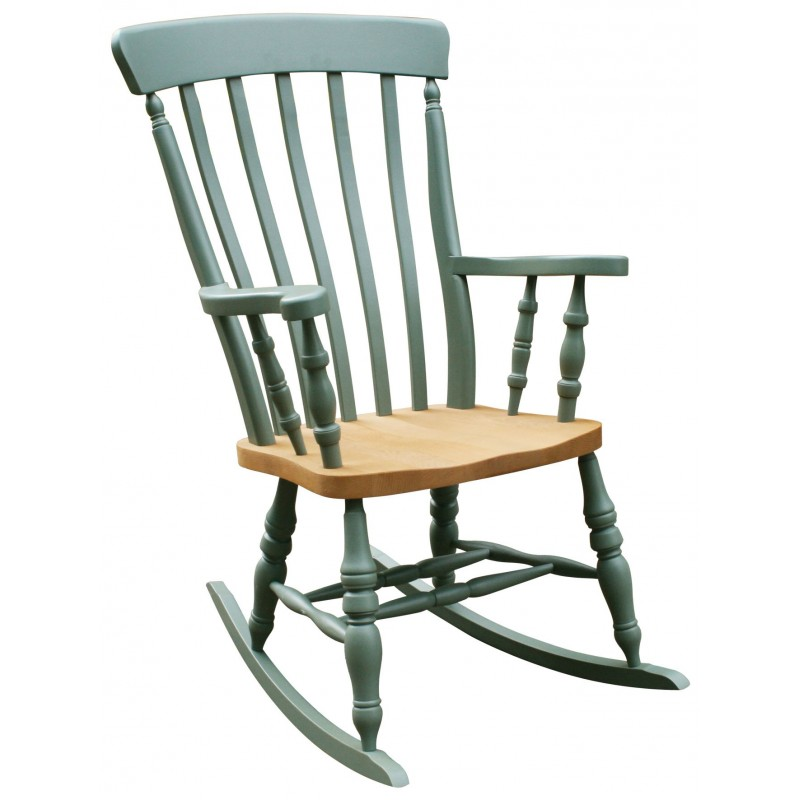 Kitchen Table And Chairs Ireland: Windsor Lath Back Rocking Chair