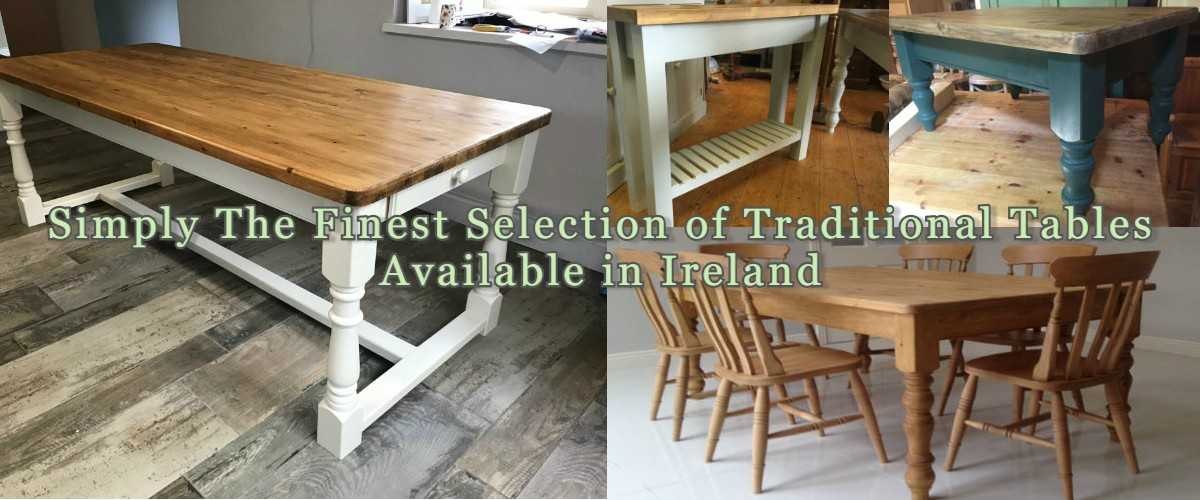 Traditional Pine Kitchen Tables